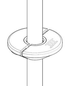 Lumaiii air hose hang clamp attached to air hose