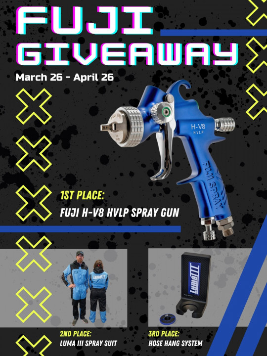 Fuji Spray Gun and Luma iii products